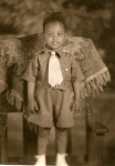 Carl Arnold Ward (1940-1946), oldest child of Sudie Mae Ward
