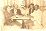 (L-R) Wyola, Cousin Margarite Ford, Susie Ward and ? ?  note: ya'll Grandma Susie at the club