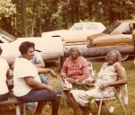(L-R) Lucille Self Robinson, Wyola Self Bell and Susie Self Ward