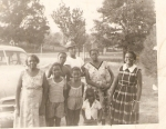 Grandma Susie,Joyce,Gwen,Michael  Babe, Butch, Uncle Thorney & Aunt Sister
