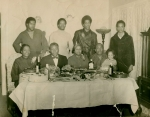 seated- Big Baby,??Booker with baby Ruthie  Standing- Felton, Beedie, Anthony & Johnny