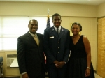 Jarvis and Brendalyn Ward with son, Brandan